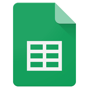 Google sheets as employee scheduling software tool