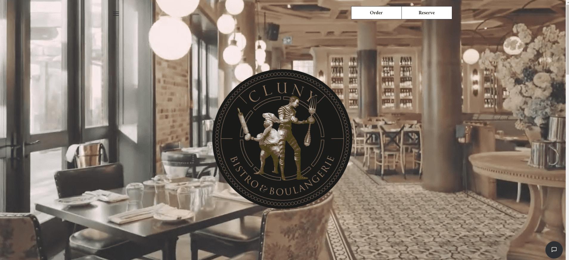 Cluny Bistro & Boulangerie restaurant websites
