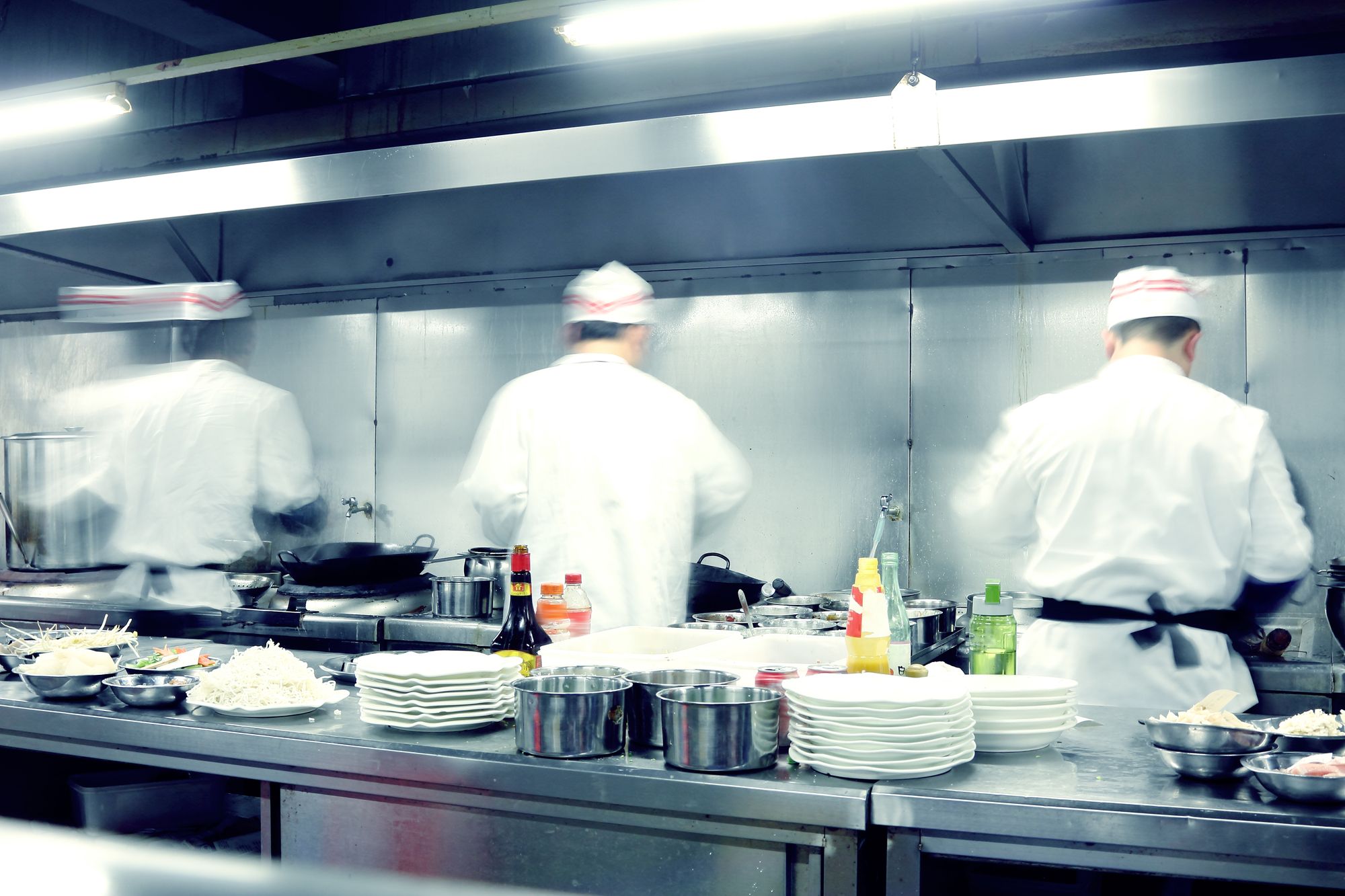 Effective leaders in a restaurant
