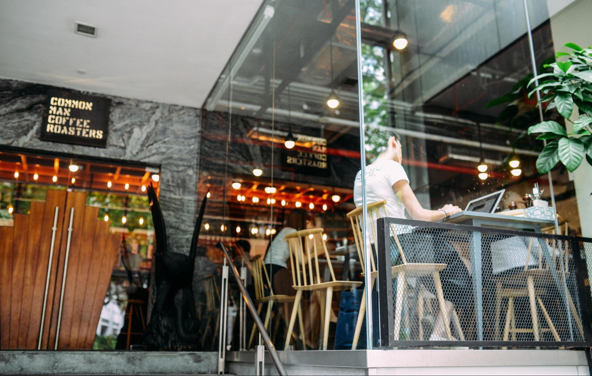 Man working on restaurant staffing procedures