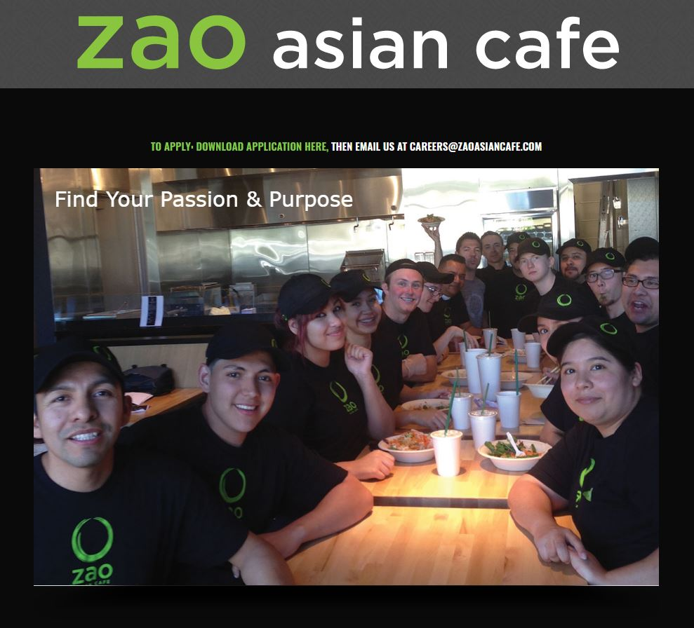 Asian cafe restaurant website