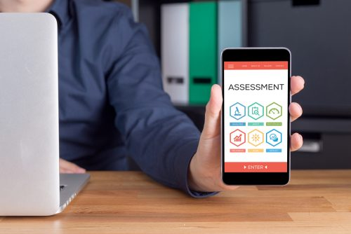 Assessment app on phone