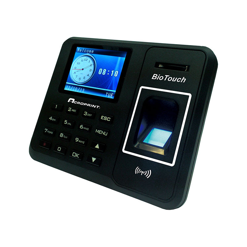 Acroprint BioTouch Time Clock for small businesses