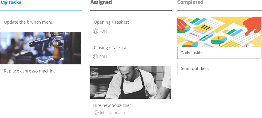 Tasks Feature by Sling