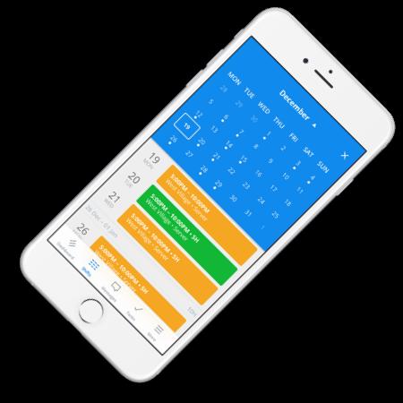 The Sling mobile app