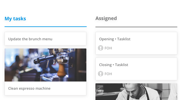 Sling Task feature as part of ways to improve work performace