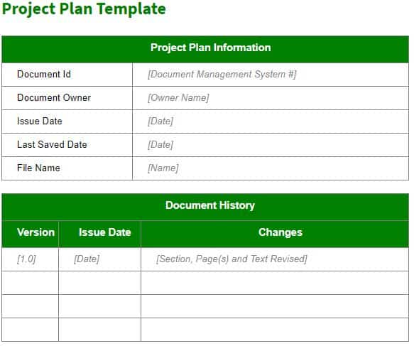 3 create a project plan template