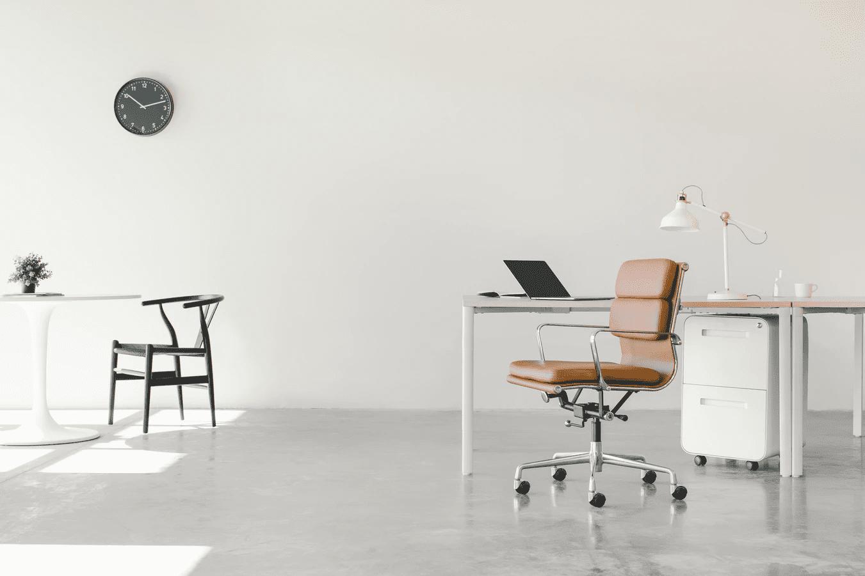 Minimalism office space