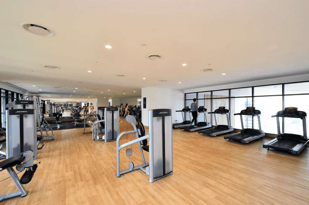 Workplace gym as an example of fringe benefits