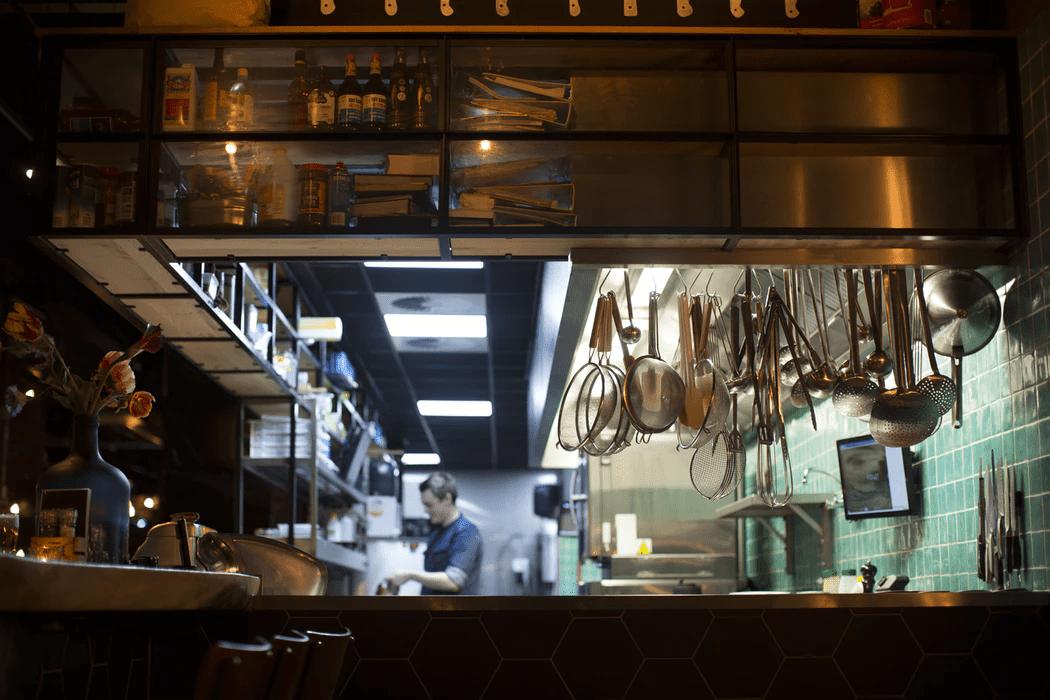 Ghost restaurant kithen