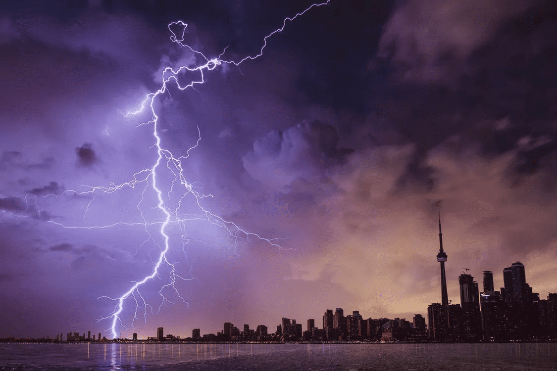 lightening as what a business would use an inclement weather policy for