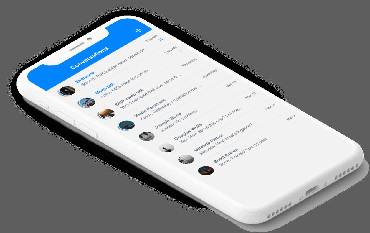 mobile Sling app