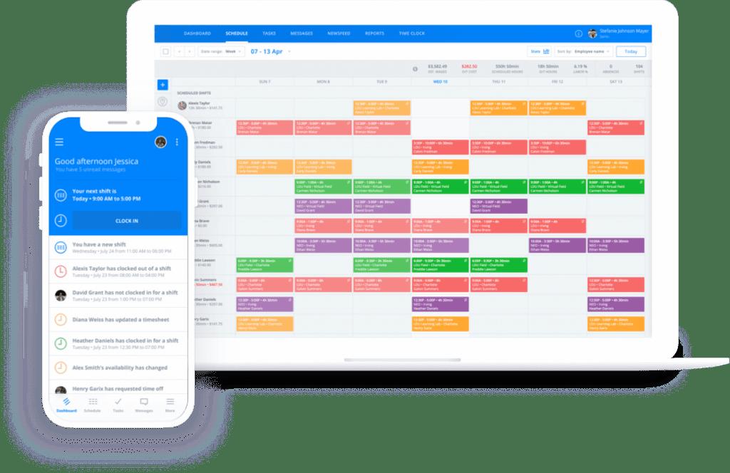 virtual team building schedule on sling app
