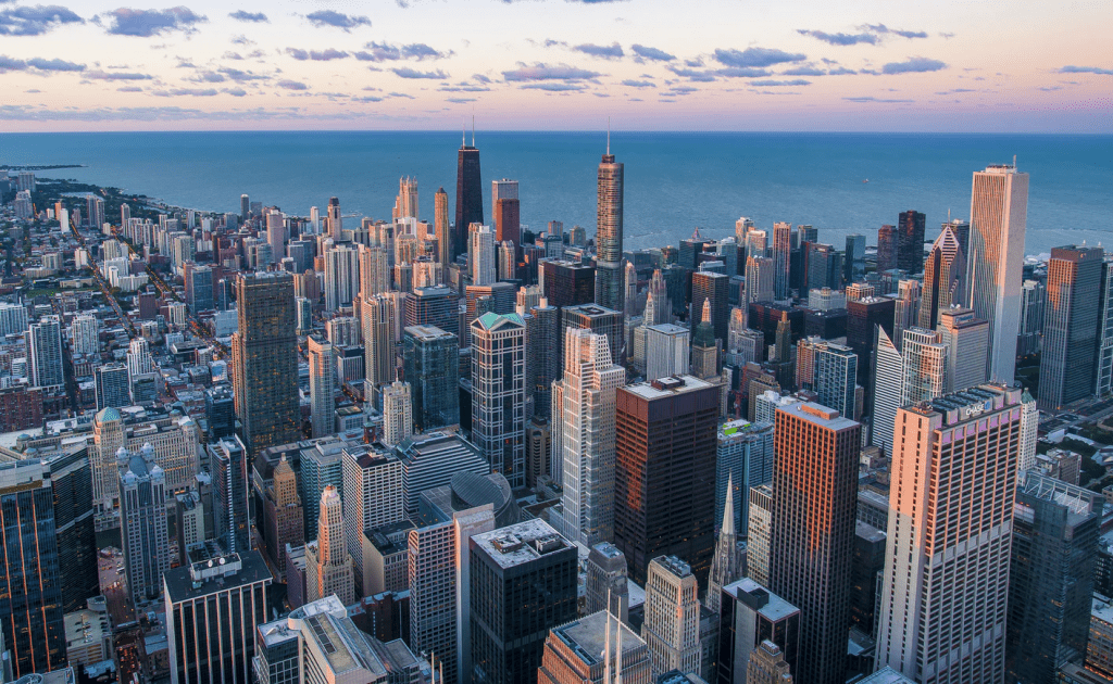 Big City sky line