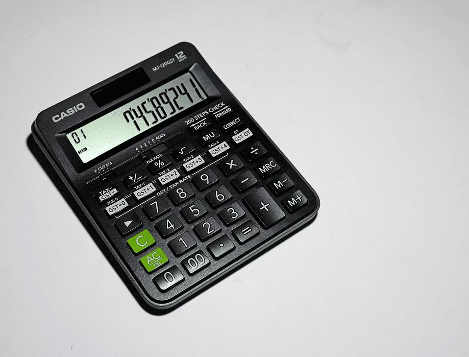 Calculator to calculate direct labor cost